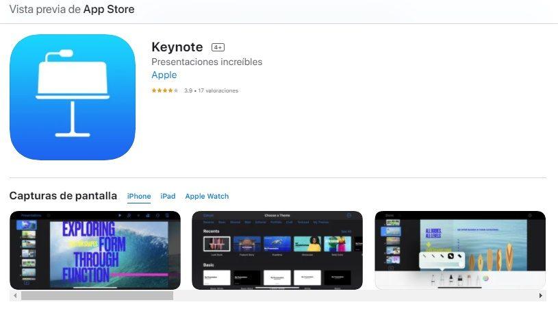 App iOS Para Hacer Diapositivas En iPhone