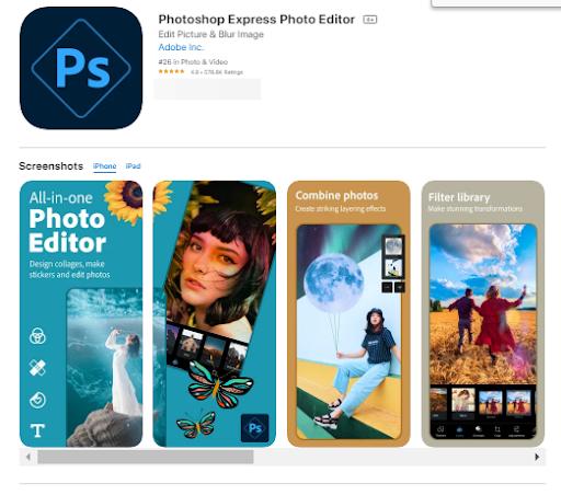Aplicación Para Editar Fotos En iPhone