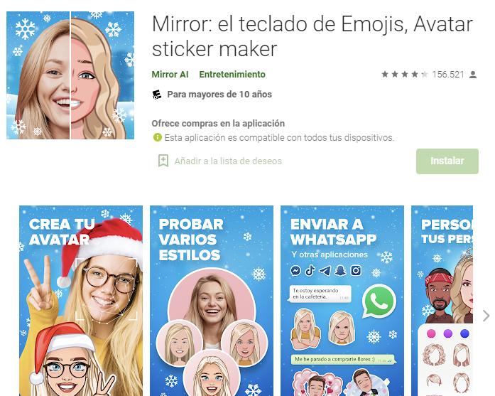 Aplicación Para Hacer Emojis Con Tu Cara En Android